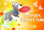 Peppers Frisbee Fun