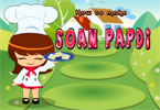 Soan Papdi Cooking