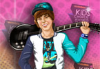 Justin Bieber Dress Up Game