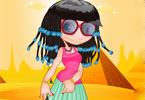 Egyptian Beauty Dressup