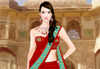 Indian Saree Dressup