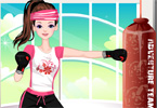 Tae Bo Girl Dress Up