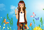 Hippie Style Dress Up
