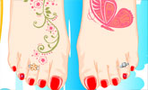 Pretty Pedicure Games