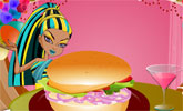 Monster High Burger