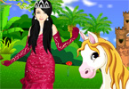 Princess With Horse title=