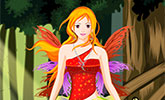 Charming Spring Fairy