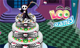 Monster High Wedding Cake title=