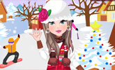 Winter Freeze Dress Up