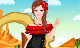 Mexican Doll Dress Up
