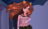 Monster High Clawdeen Dress up