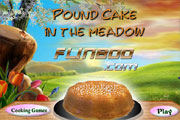 Pound Cake in the Meadow