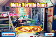 Make Tortilla Eggs