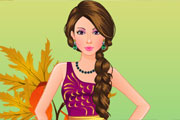 Cute Teenager Girl Dressup