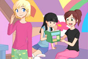 Sleepover Dressup Match
