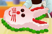 Cooking Bunny Cake
