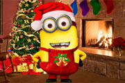 Minion Christmas Fashion title=