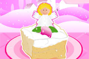 Christmas Angel Cake
