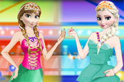 Elsa and Anna Party title=