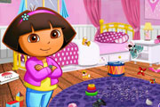 Dora Room Clean Up title=