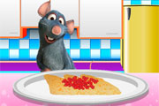 Mouse Eats Crepes