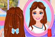 Princess Half Up Hairstles