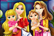 Mother Princesses Mall Shopping