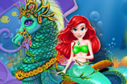 Mermaid Sea Horse Caring