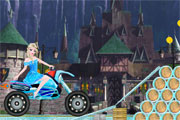 Elsa Rides To Castle title=