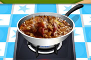 Game Day Chili Cooking