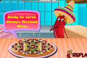 Jimmys Mexican Pizza