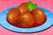 Peaches Poached In Wine