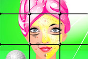Makeup Puzzle Game