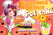 Gourment Kitchen Pot Cake