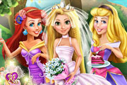 Princess Wedding Party