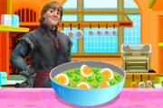 Kristoff Makes Spicy Eggs