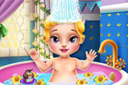 Princess Baby Bath