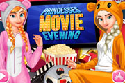Princesses Movie Evening